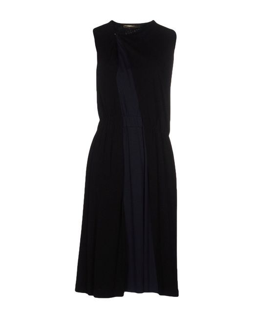 Balenciaga | Black Knee-length Dress | Lyst