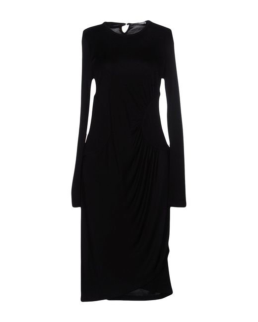 Givenchy | Black Knee-length Dress | Lyst