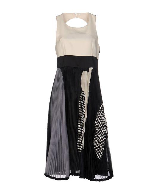 Antonio Marras | Black 3/4 Length Dress | Lyst