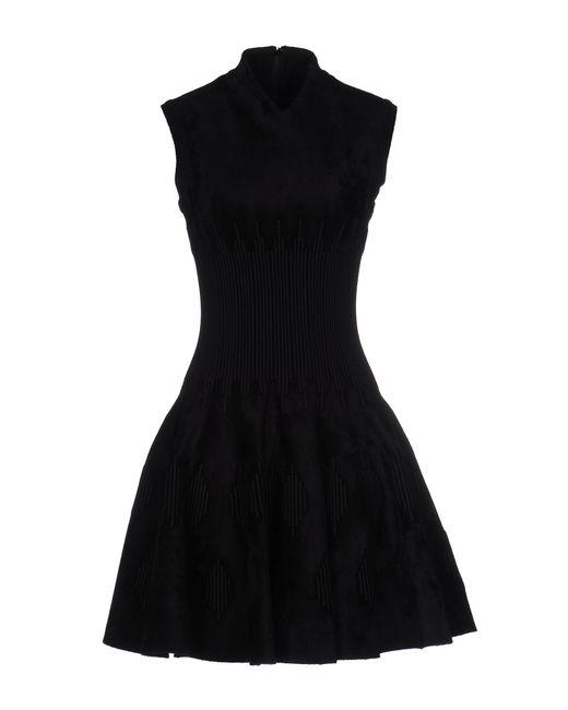 Alaïa | Black Short Dress | Lyst