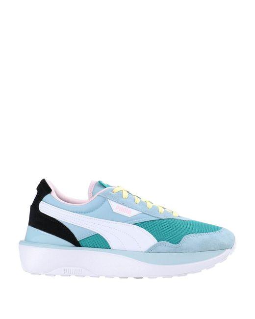 PUMA Blue Low-tops & Sneakers