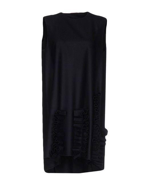 Maison Rabih Kayrouz | Blue Short Dress | Lyst