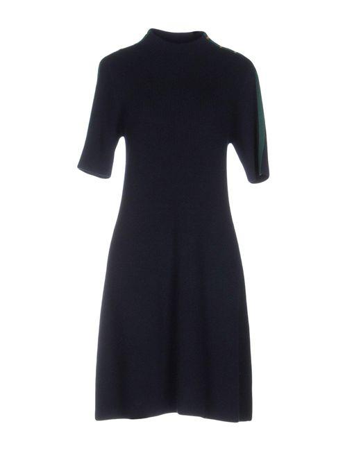 Tory Burch | Blue Short Dress | Lyst