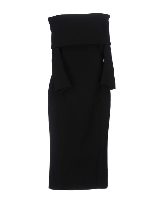 Faith Connexion | Black Knee-length Dress | Lyst