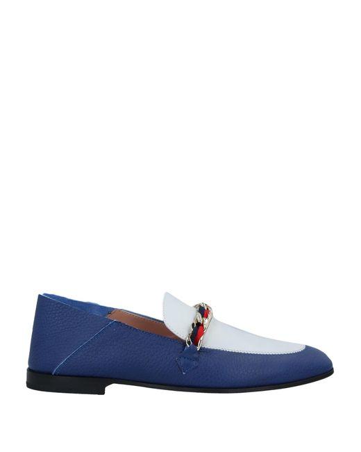 Pollini Blue Loafer