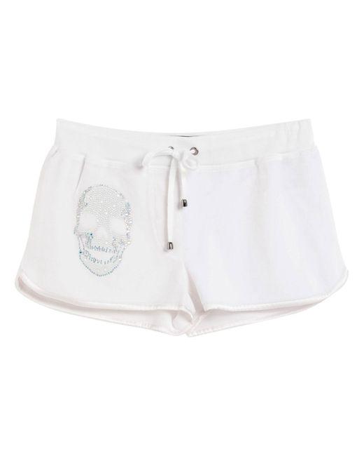 Shorts di Philipp Plein in White