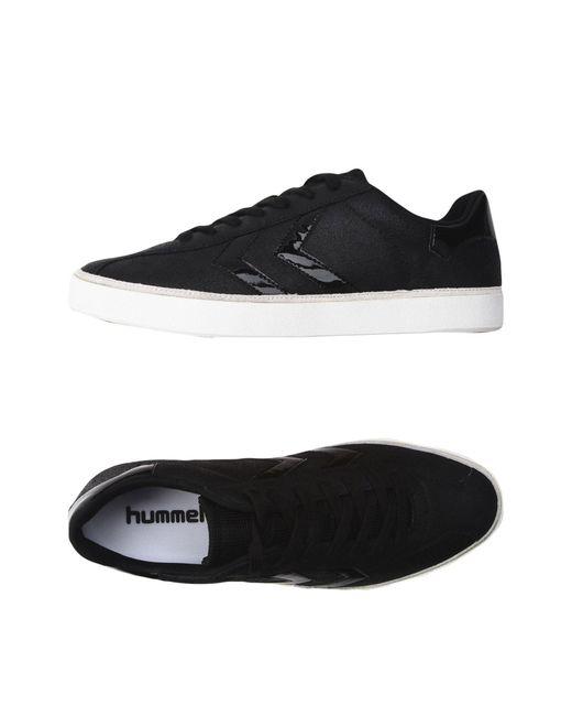 Hummel - Black Low-tops & Sneakers - Lyst