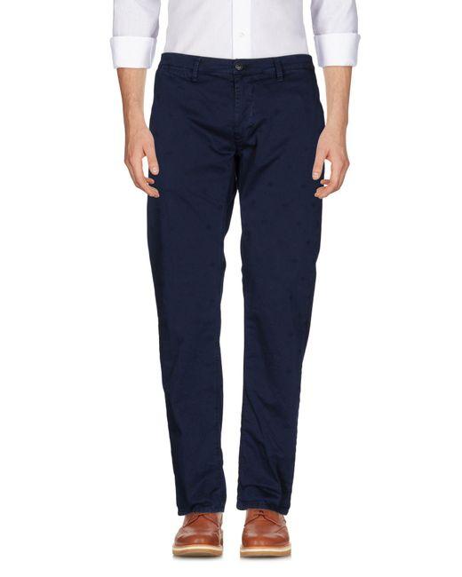 Macchia J - Blue Casual Trouser for Men - Lyst