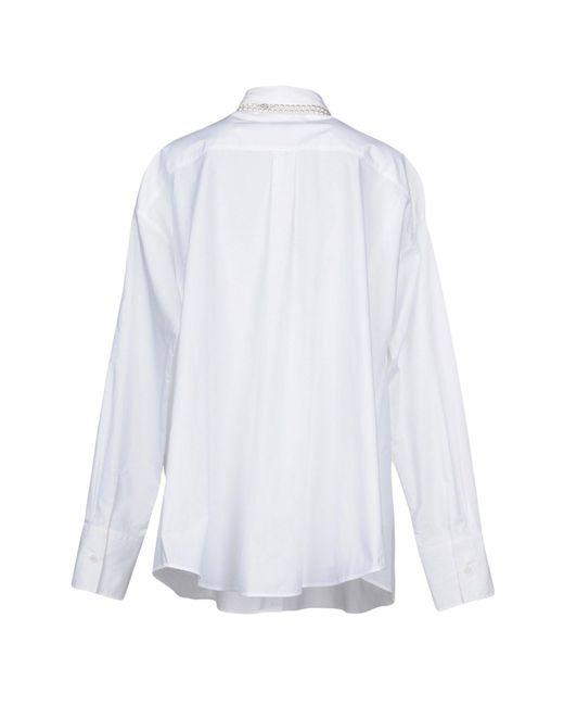 MM6 by Maison Martin Margiela White Shirt
