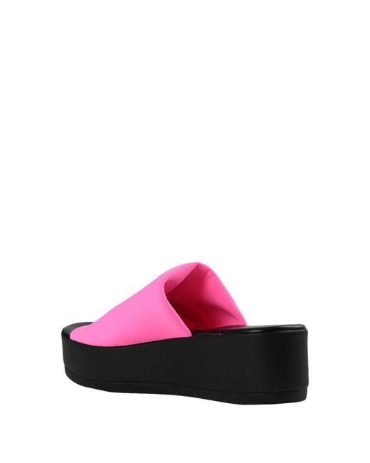 Sandales Steve Madden en coloris Pink