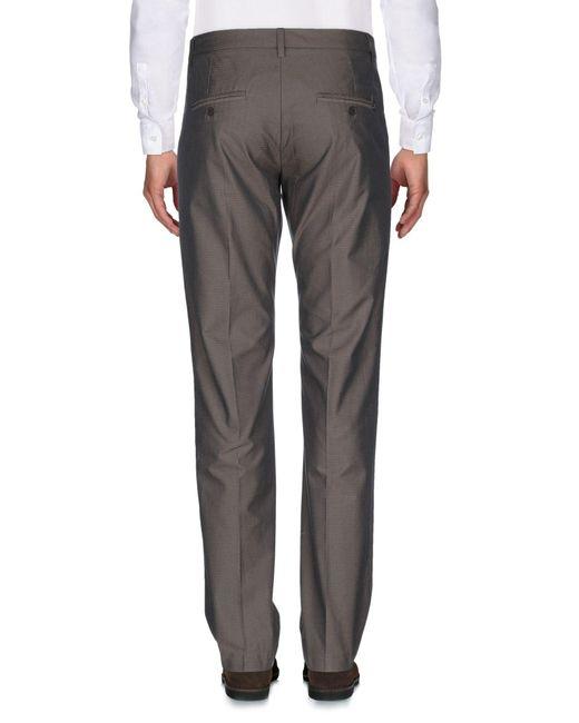 Dondup Pantalon homme de coloris marron