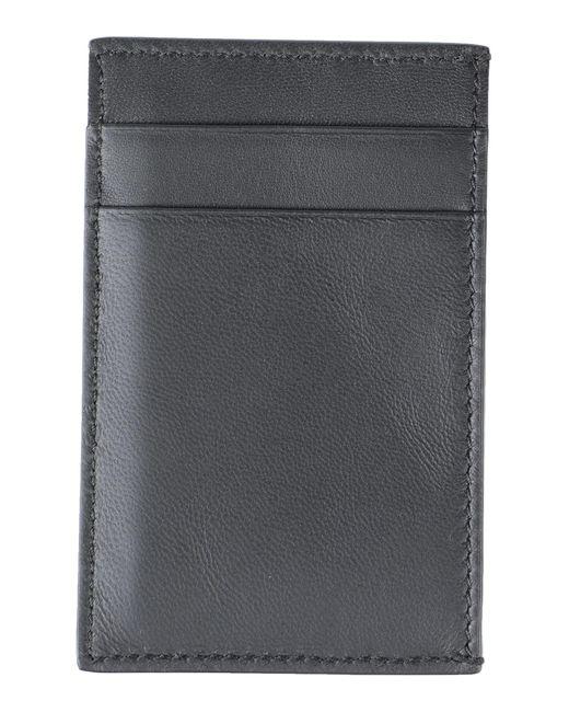 Alexander McQueen Kartenetui in Black für Herren