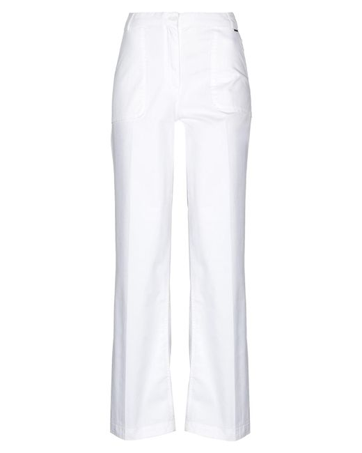 Woolrich White Casual Trouser