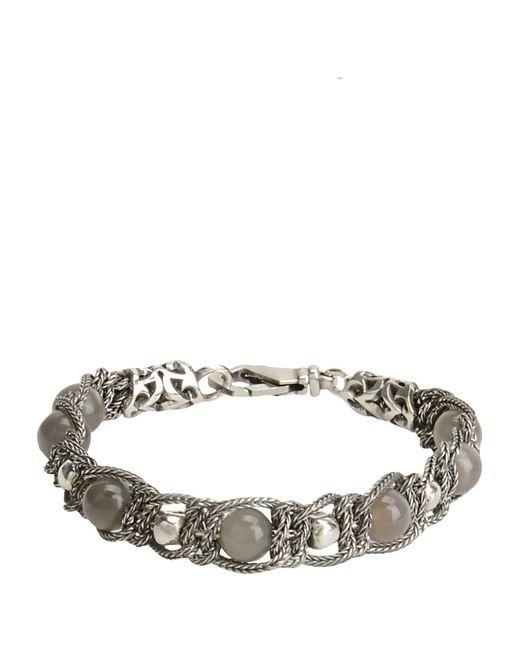Emanuele Bicocchi - Gray Bracelets - Lyst