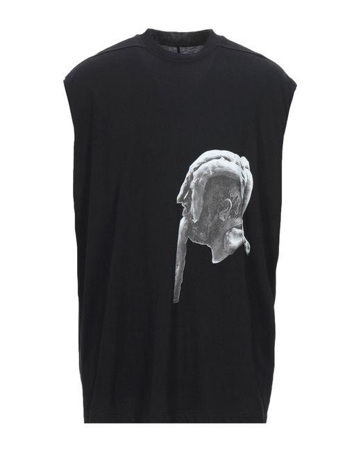 Rick Owens T-shirts in Black für Herren