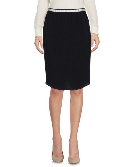 Nude - Natural Knee Length Skirt - Lyst