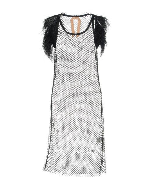 Vestito longuette di N°21 in Black
