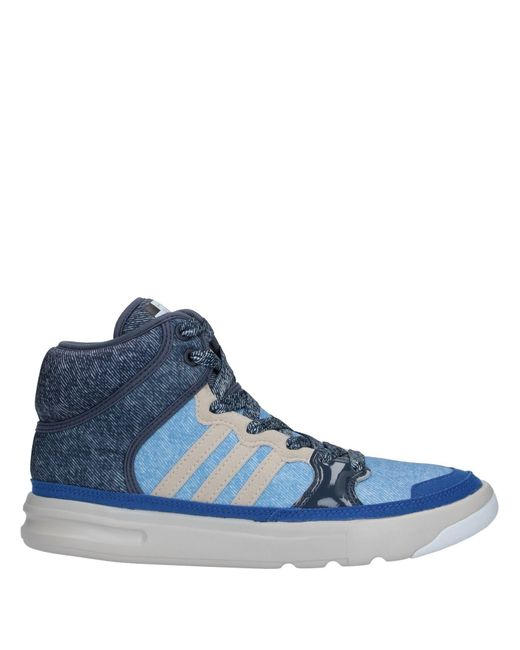 Adidas By Stella McCartney Blue High-tops & Sneakers