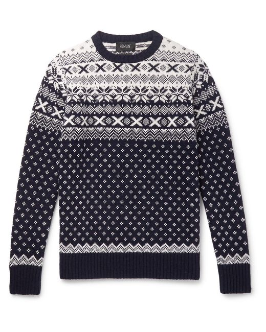 Howlin' By Morrison Multicolor Sweater for men