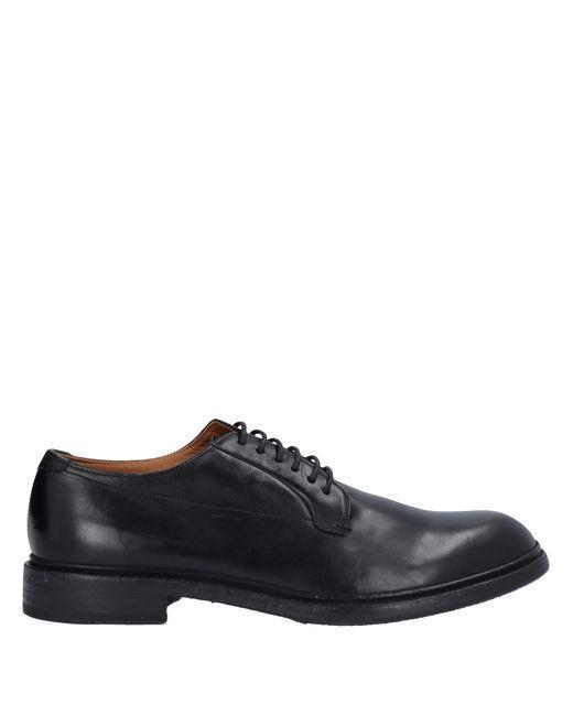 Pantanetti Black Lace-up Shoe for men