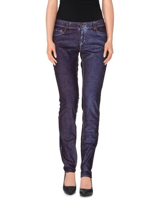 GAUDI | Purple Casual Pants | Lyst