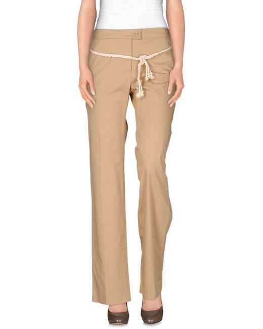 Patrizia Pepe | Natural Casual Trouser for Men | Lyst