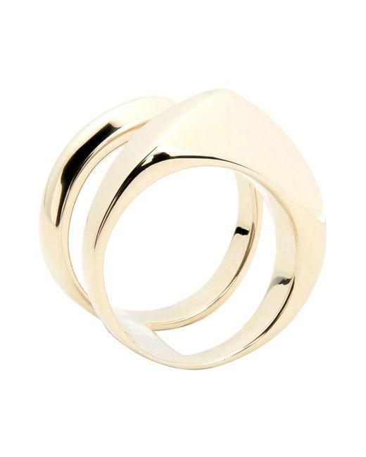 XENIA BOUS - Metallic Ring - Lyst