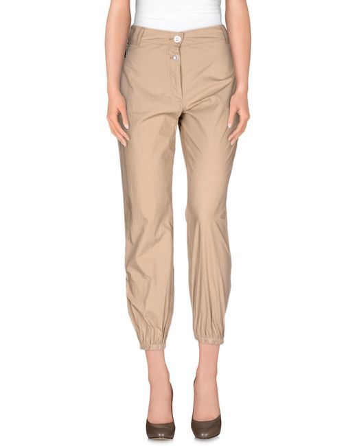 Pinko | Natural Casual Pants | Lyst