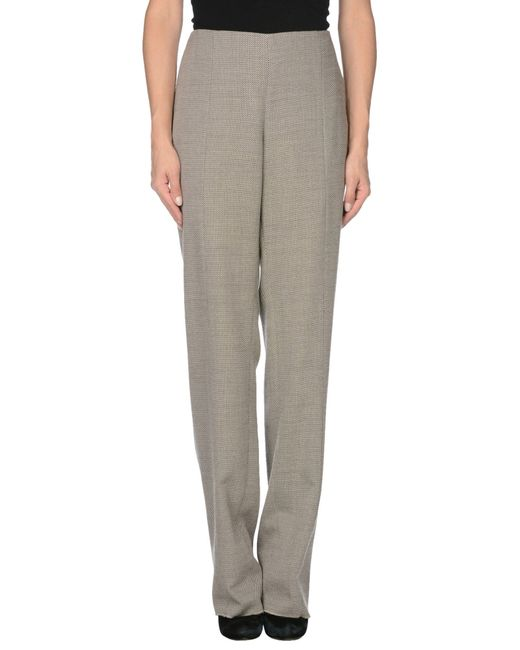 Armani | Gray Casual Pants | Lyst