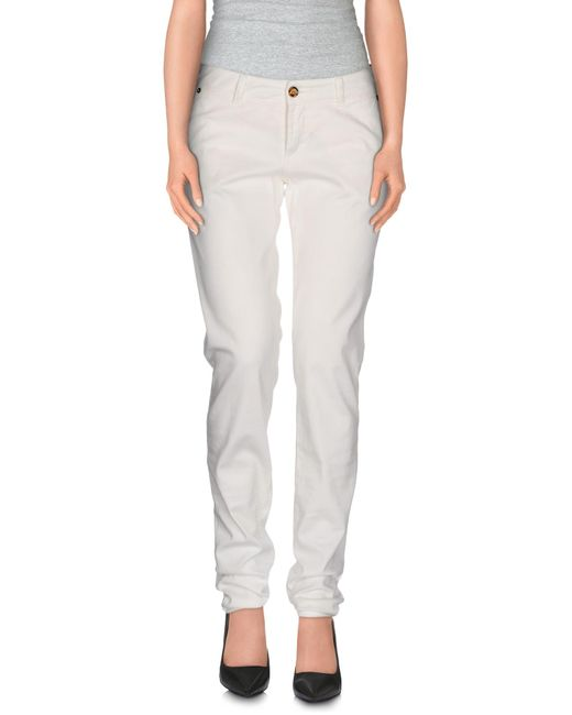 John Galliano | White Casual Pants | Lyst