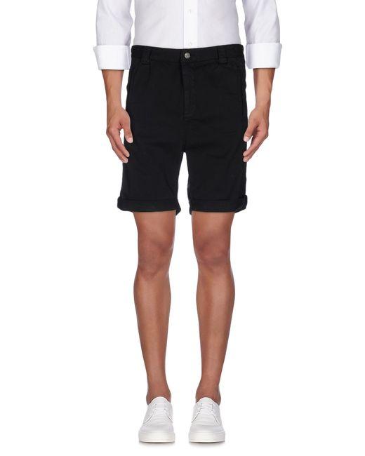 Journal   Black Bermuda Shorts for Men   Lyst