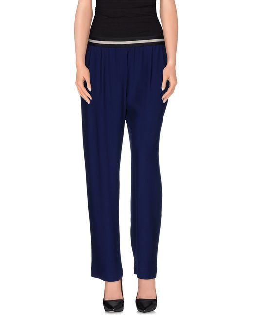 Mauro Grifoni | Blue Casual Trouser | Lyst