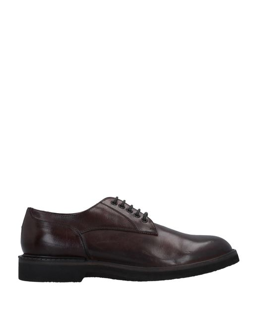 Pantanetti Brown Lace-up Shoe for men