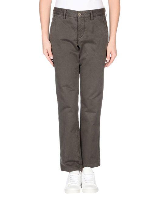 Aspesi   Gray Casual Pants   Lyst