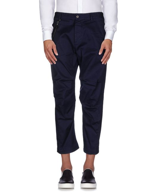 DSquared²   Blue Casual Pants for Men   Lyst