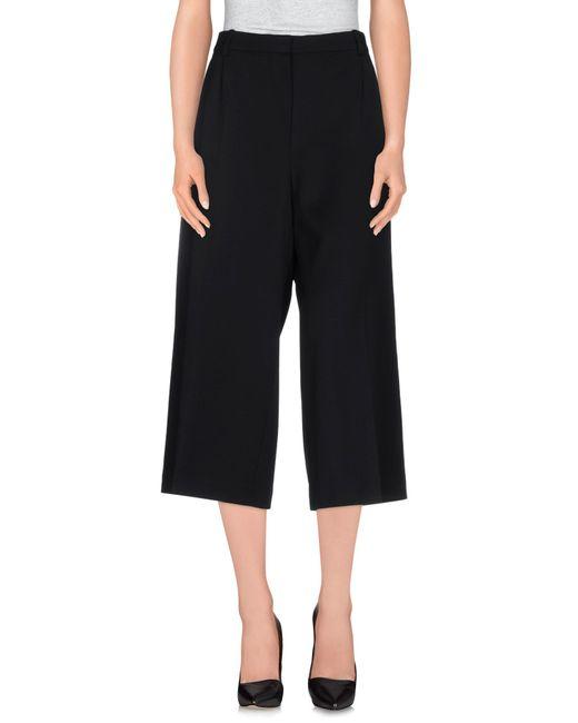 Alexander McQueen | Black Casual Trouser | Lyst