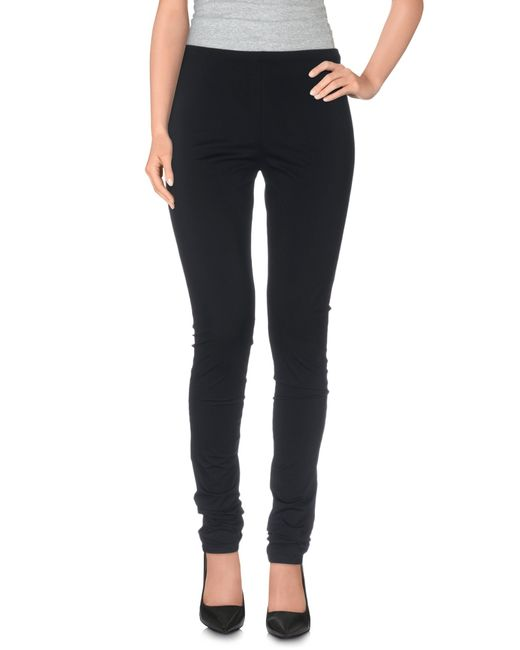 Maison Margiela | Black Leggings | Lyst