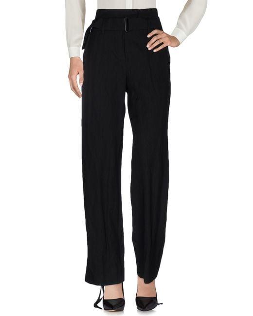Ann Demeulemeester | Black Casual Pants | Lyst
