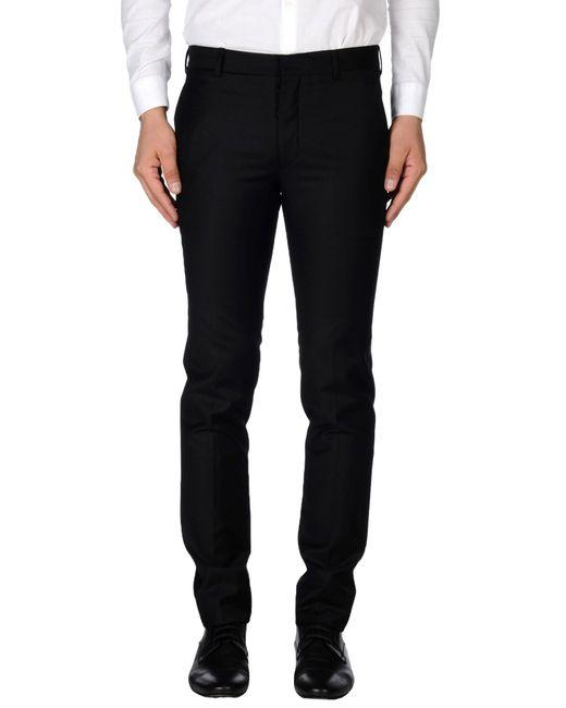 Prada   Black Casual Pants for Men   Lyst
