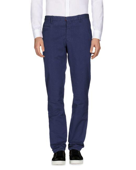Incotex   Blue Casual Pants for Men   Lyst