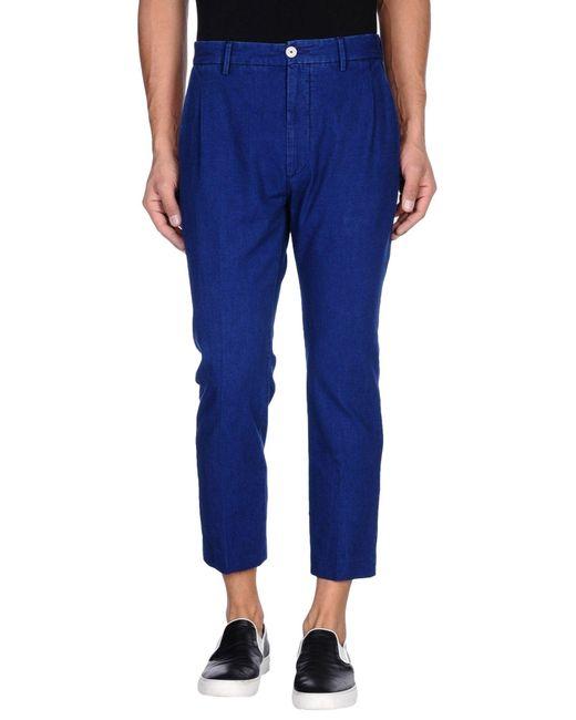 Pence | Blue Denim Pants for Men | Lyst