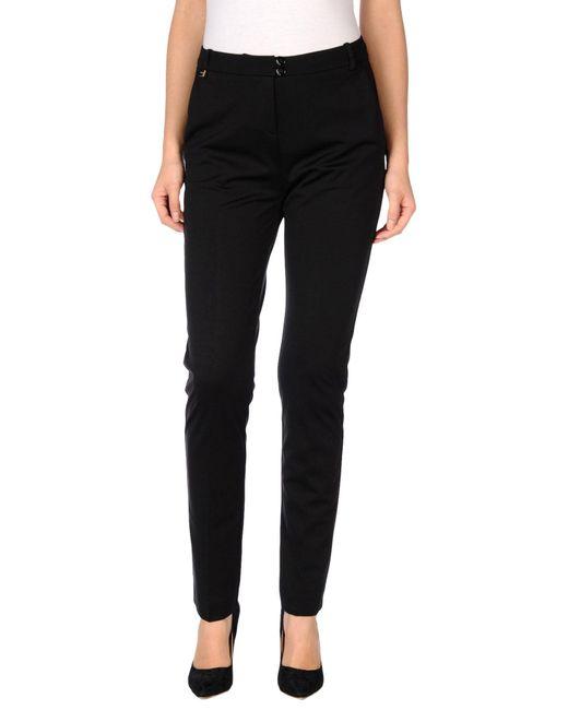 Pinko | Black Casual Trouser | Lyst