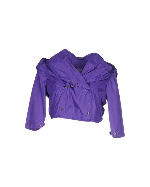 Add - Purple Jacket - Lyst