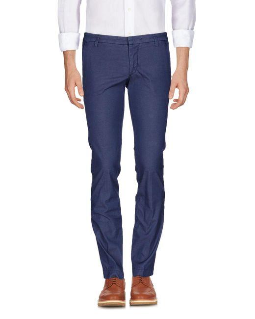 Michael Coal | Blue Casual Trouser for Men | Lyst