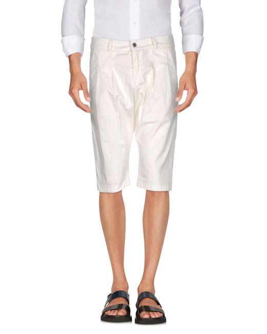 Imperial | White Bermuda Shorts for Men | Lyst