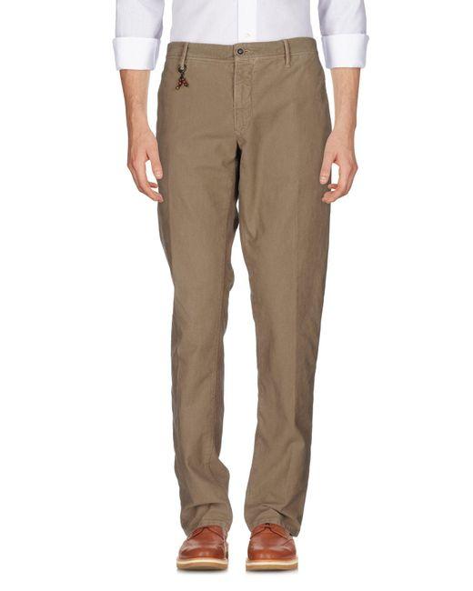 Incotex | Natural Casual Pants for Men | Lyst