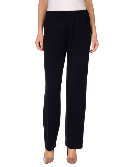 Roberta Puccini By Baroni | Blue Casual Trouser | Lyst