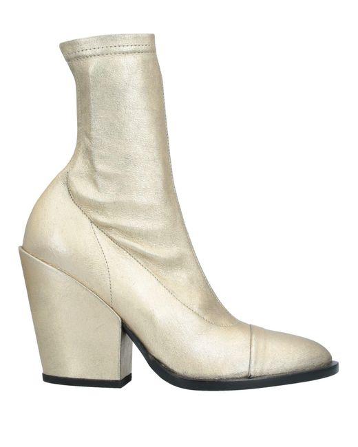 A.F.Vandevorst Botines de caña alta de mujer de color metálico