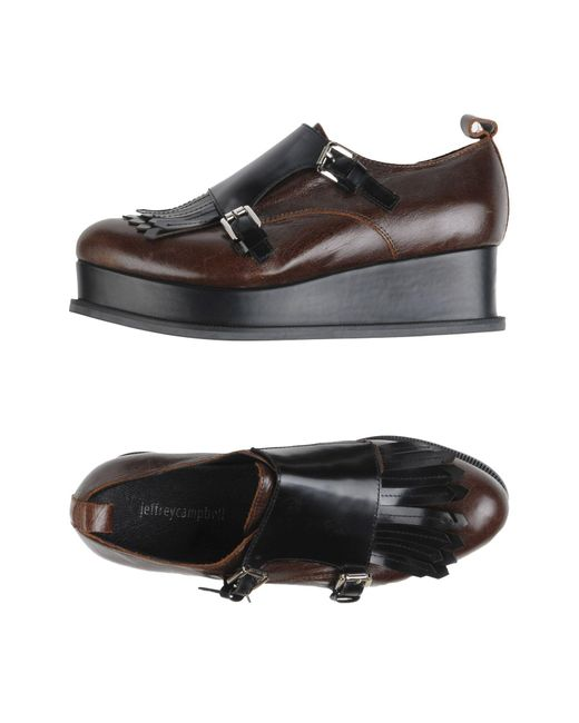 Jeffrey Campbell | Brown Loafer | Lyst