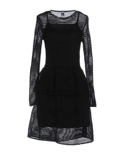 M Missoni Black Short Dress